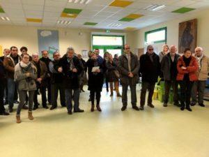 Inauguration de la salle polyvalente du Fouilloux