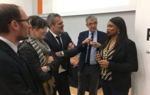 Visite de l'INSEP avec Laura Flessel