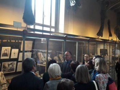 Visite au Muséum National d'Histoire Naturelle