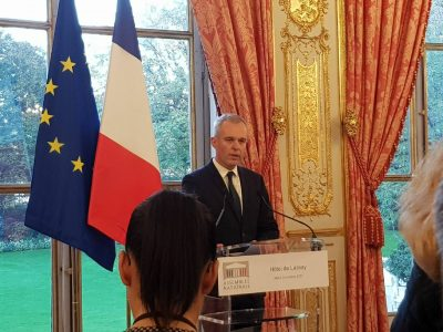 François de Rugy reçoit les Présidents des groupes d'amitié
